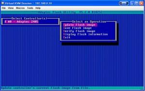 RAID BIOS 08 300x188 Adaptec RAID のBIOS更新