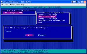RAID BIOS 10 300x188 Adaptec RAID のBIOS更新