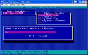 RAID BIOS 12 300x188 Adaptec RAID のBIOS更新