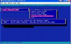 RAID BIOS 18 300x185 Adaptec RAID のBIOS更新