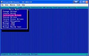 raid 05 300x188 RAIDアレイの作成(Adaptec編)