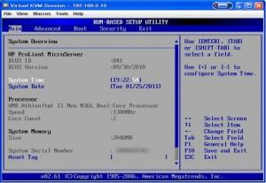setup 00 300x207 MicroServerのBIOSセットアップ