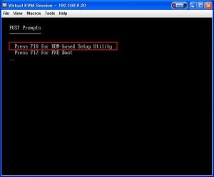 setup 01 300x248 MicroServerのBIOSセットアップ