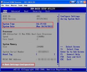 setup 04 300x248 MicroServerのBIOSセットアップ