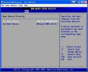 setup 11 300x248 MicroServerのBIOSセットアップ