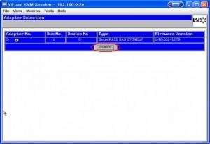 MegaRAID 06 300x205 RAIDアレイの作成(MegaRAID編)