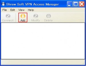 shrew Soft VPN Client 01 300x231 Shrew Soft VPN Clientを使う